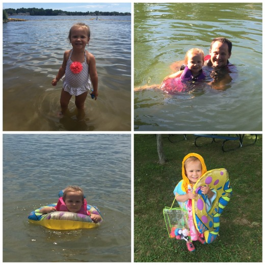 lake swimming