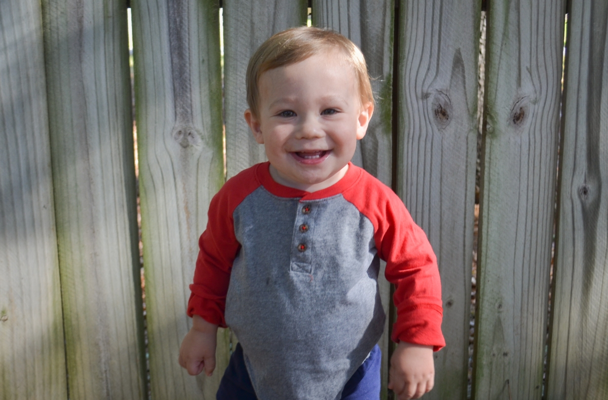 Our Brax Man at 18 Months