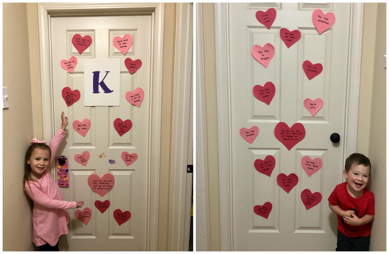 Valentines-doorhearts