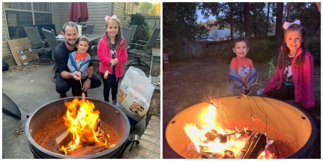 Outside-campfire