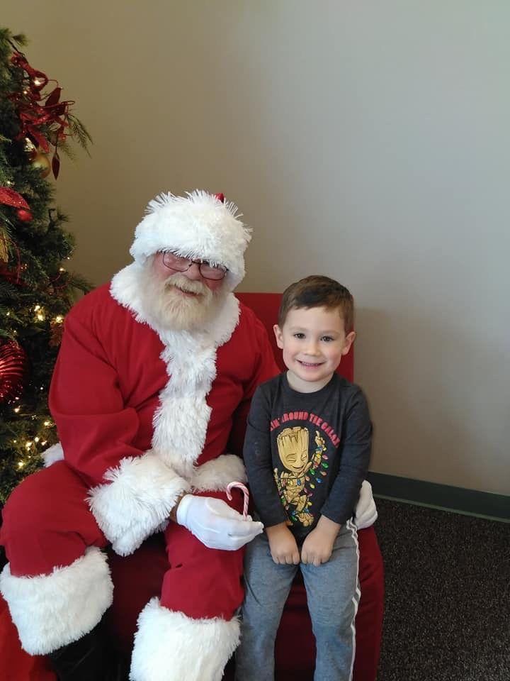 Santa at School