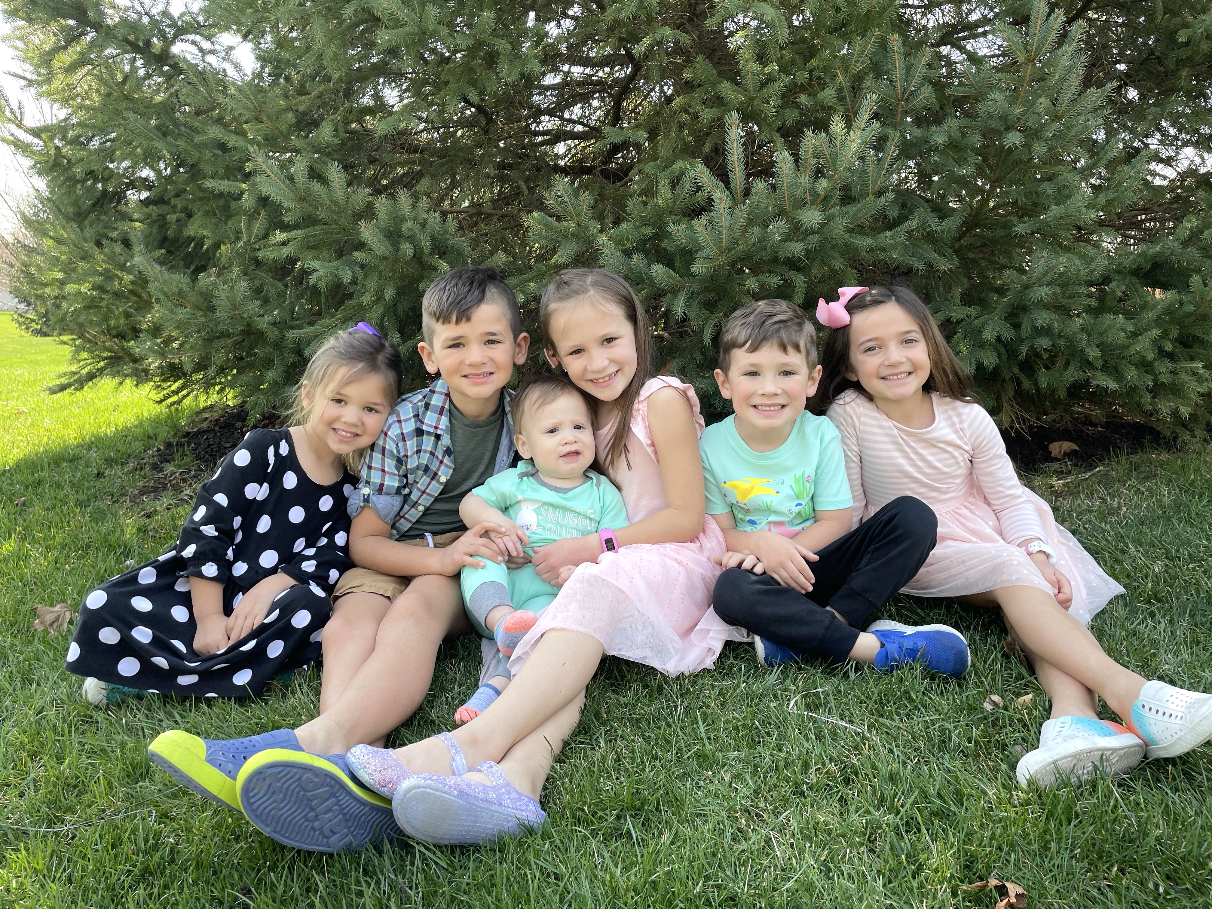 Easter-cousins
