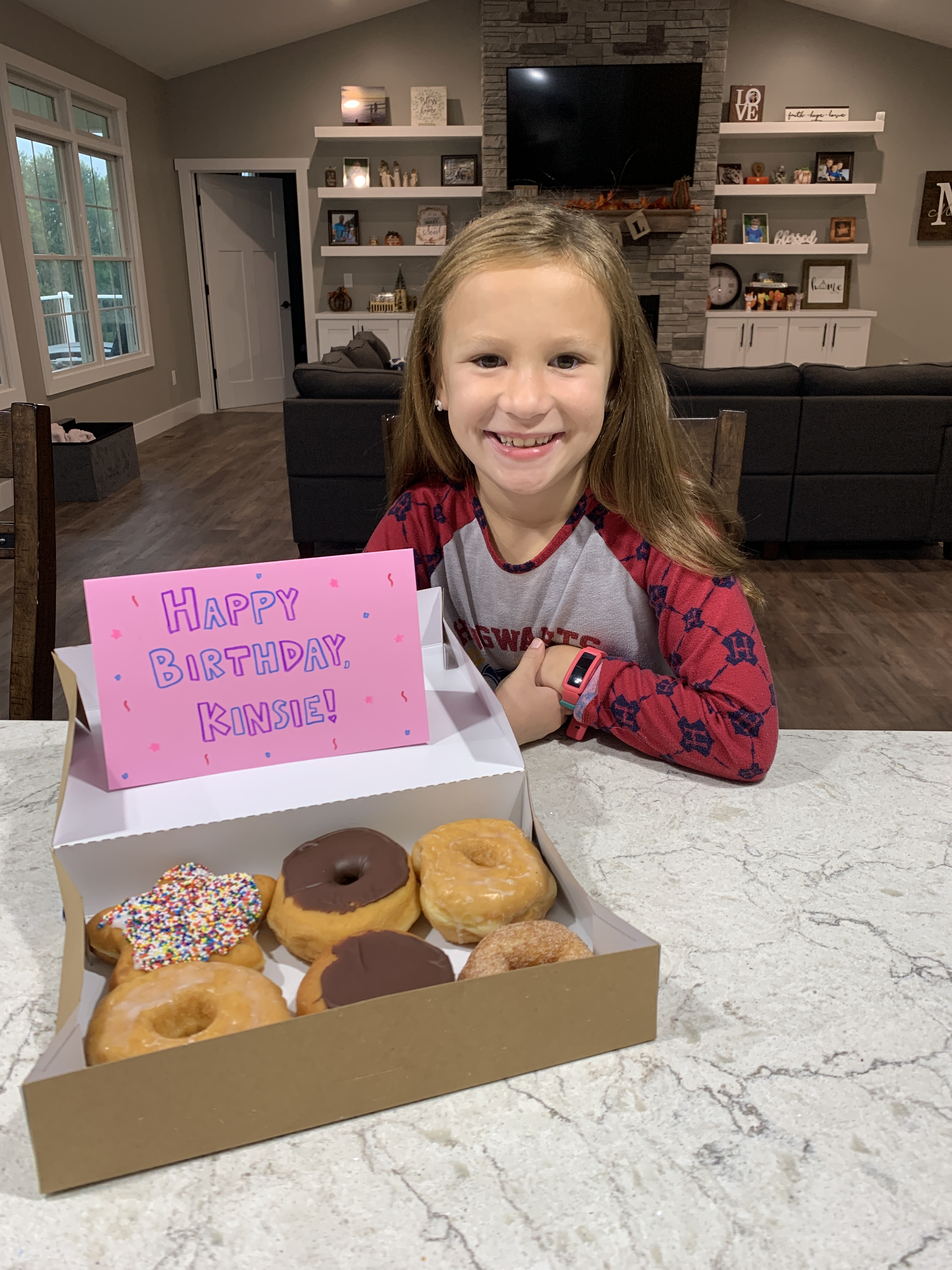 Birthday-donuts